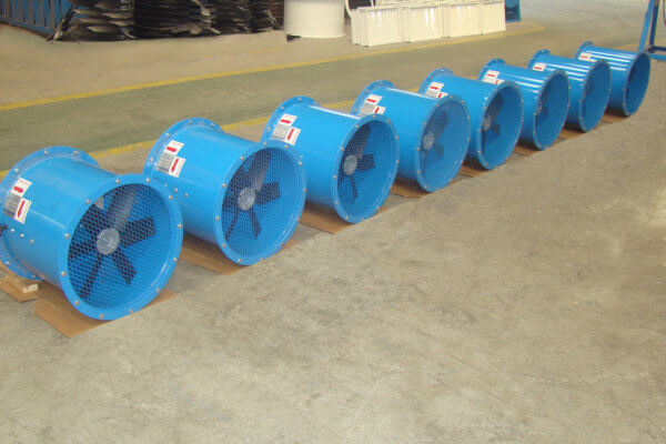 Exaustor Industrial Axial | Brasfaiber climatização industrial
