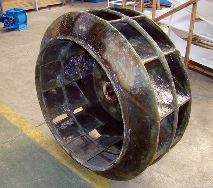 Rotor de Exaustor