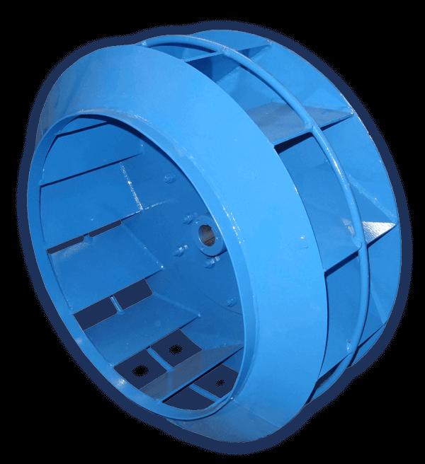 Rotor de Exaustor Industrial