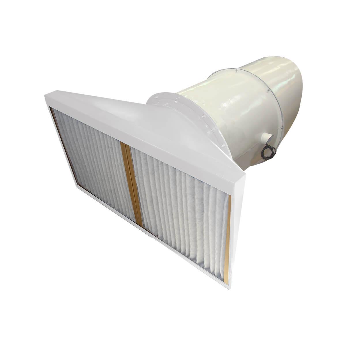 Exaustor com filtro para Gases Corrosivos