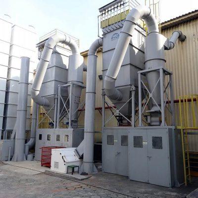 Filtro de manga para indústria esferográfica