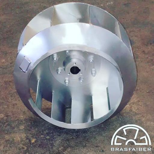 manutenção do rotor industrial